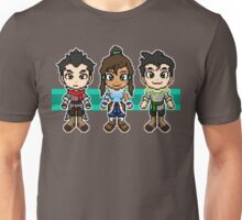 Legend of Korra - The Fire Ferrets Pixels Unisex T-Shirt