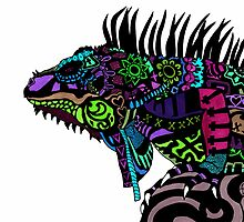 (Day of the) Dead Iguana II by afspeights