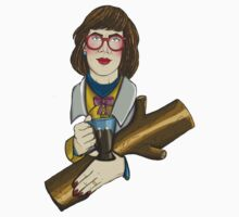 The Log Lady - Twin Peaks by HungryDesigns