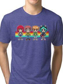 If your pixels had a face, I'd punch it Tri-blend T-Shirt