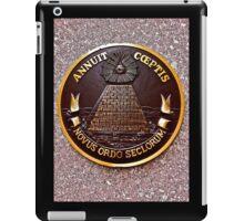 ANNUIT COEPTIS - NOVUS ORDO SECLORUM iPad Case/Skin