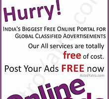 Post Free Classified Ads | Helpline : +91-8739999912 by astroyatra