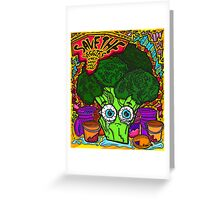 Save The Veggies - Broccoli Greeting Card