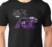 We Reject Your Cannon (Purple Version) Unisex T-Shirt