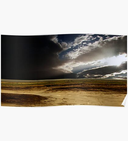 Storm Clouds Over The Isthmus Poster