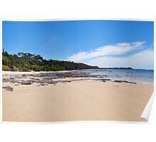 Beach Landscape Poster