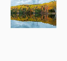 Beautiful reflections of a autumn forest  Unisex T-Shirt