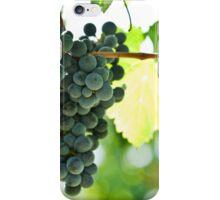 Ripe red wine grapes  iPhone Case/Skin