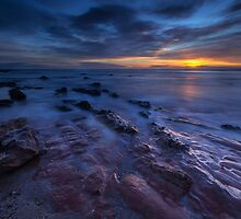 Seacliff Beach at Sunrise by PhilipCormack