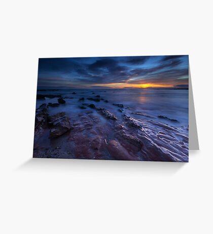 Seacliff Beach at Sunrise Greeting Card