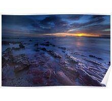 Seacliff Beach at Sunrise Poster