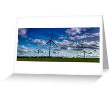 Windpower Greeting Card