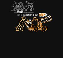 We Reject Your Cannon (Orange Version) Unisex T-Shirt