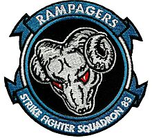 VFA-83 Rampagers Photographic Print