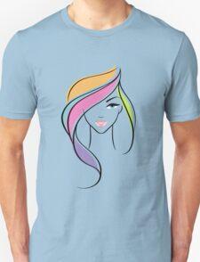 Beautiful woman Unisex T-Shirt