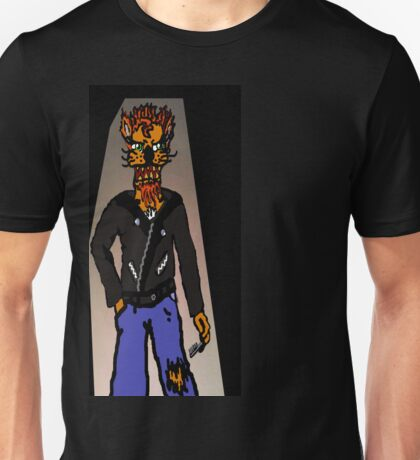 Cool For Cats Punk Unisex T-Shirt