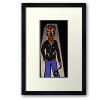 Cool For Cats Punk Framed Print
