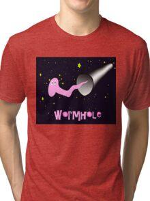 Wormhole Tri-blend T-Shirt