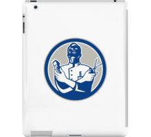Barber Hair Clipper Scissors Retro iPad Case/Skin