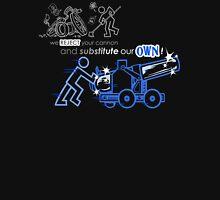 We Reject Your Cannon (Blue Version) Unisex T-Shirt