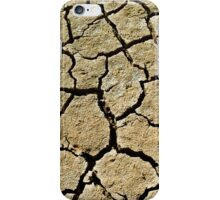 Cracked soil  iPhone Case/Skin