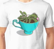 Venus Fly Trap in a Cup - House Plant Unisex T-Shirt