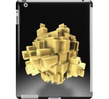 Gold abstract iPad Case/Skin