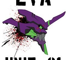 Evangelion - Unit 01 by Az McAarow