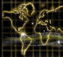 world map by carloscastilla
