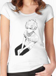 Mamura  Women's Fitted Scoop T-Shirt