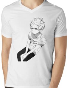 Mamura  Mens V-Neck T-Shirt