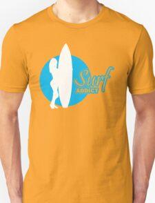 Surf addict Unisex T-Shirt