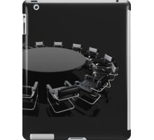 negotiating table iPad Case/Skin