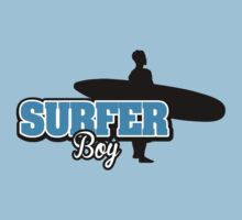 Surfer Boy One Piece - Short Sleeve