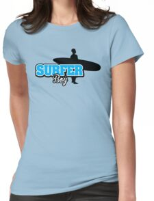 Surfer Boy Womens Fitted T-Shirt