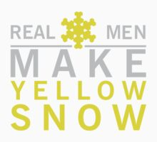 Real men make yellow snow by nektarinchen