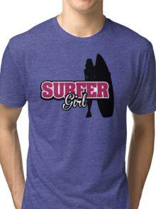 Surfer Girl Tri-blend T-Shirt