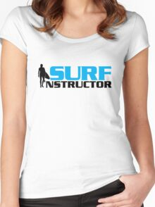 Surf Instructor Women's Fitted Scoop T-Shirt