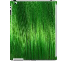 green  hair iPad Case/Skin