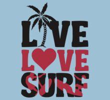 Live Love Surf Kids Clothes