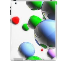 colored balls iPad Case/Skin
