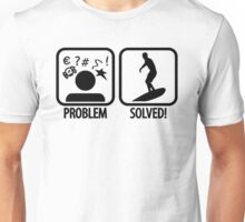 Surfing: Problem - Solved Unisex T-Shirt