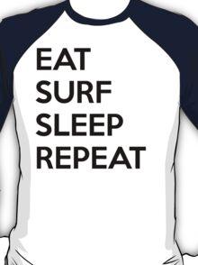Eat Surf Sleep Repeat T-Shirt