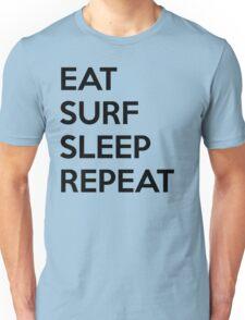 Eat Surf Sleep Repeat Unisex T-Shirt