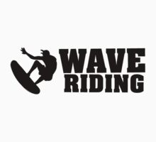 Wave Riding One Piece - Short Sleeve