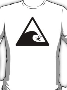 Wave sign - Accident T-Shirt