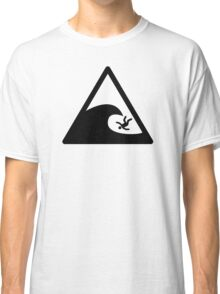 Wave sign - Accident Classic T-Shirt