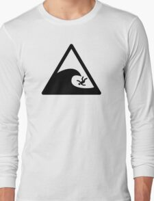 Wave sign - Accident Long Sleeve T-Shirt
