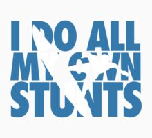 Surfing: I do all my own stunts One Piece - Short Sleeve