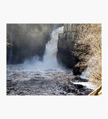 High Force Waterfall Photographic Print